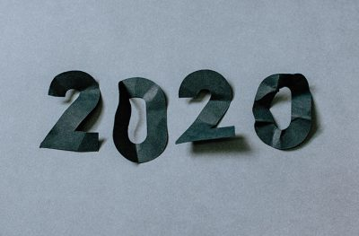 2020 cut out of paper